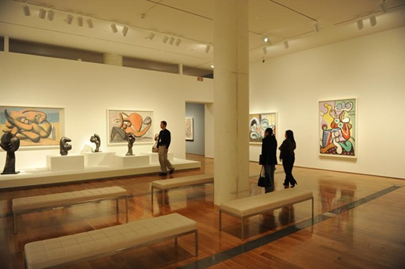 The Virginia Museum of Fine Arts and the Fine Art Museums of San Francisco each will pay a quarter of the costs of sending the landmark Picasso exhibit to Australia. - SCOTT ELMQUIST/FILE