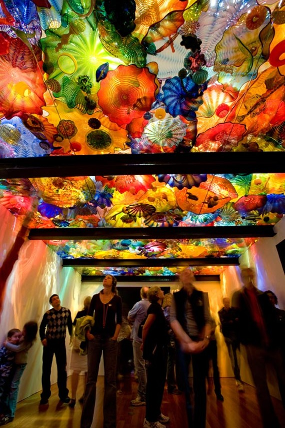 "The Virginia Museum of Fine Arts brings Dale Chihuly's ooh-inducing glass installations, including ""Persian Ceiling,"" to Richmond in October. - TERESA NOURI RISHEL/ DE YOUNG MUSEUM, SAN FRANCISCO"