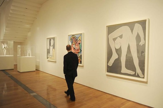 The VMFA's Picasso exhibit, which drew 229,796 people, sent business to local restaurants and retailers -- but not everyone.