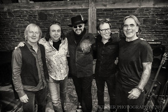 The Weight features former members of the Band, Levon Helm and Rick Danko's touring groups.