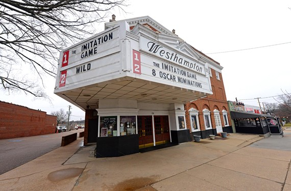 The Westhampton Theater near the intersection of Libbie and Grove had been losing money for years on its two screens. Now Regal is closing the doors sometime this year and the property will be redeveloped by its owners.