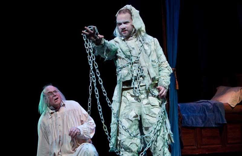 "Theatre IV on Tour's ""A Christmas Carol"" - AARON SUTTEN"
