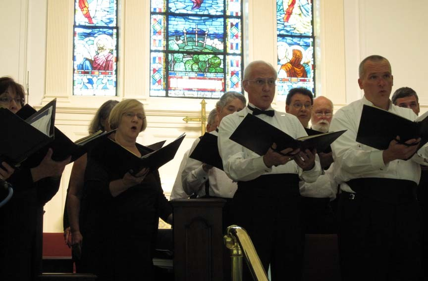 There are two chances coming up to sing along with the Richmond Choral Society, which recently celebrated its 65th anniversary.