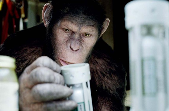 """This isn't my destiny ... this is paprika!"" Andy Serkis plays the missing link in a revamped, and surprisingly good, remake of ""Planet of the Apes."" - TWENTIETH CENTURY FOX"