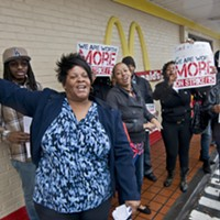 Fast-Food Workers Take Demand for Higher Wages to McDonald's