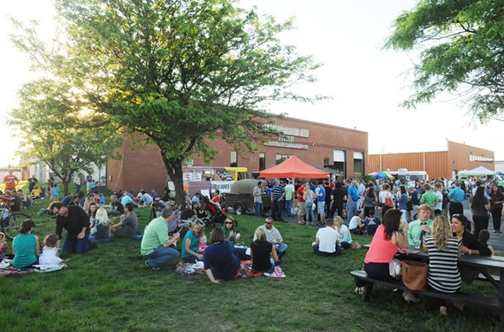 Thursday nights at Hardywood Park Craft Brewery, 2408 Ownby Lane, are a food truck lover's dream. - SCOTT ELMQUIST