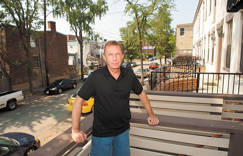 Tod Noden moved to Carver last month. He likes the neighborhood's proximity to downtown. - SCOTT ELMQUIST