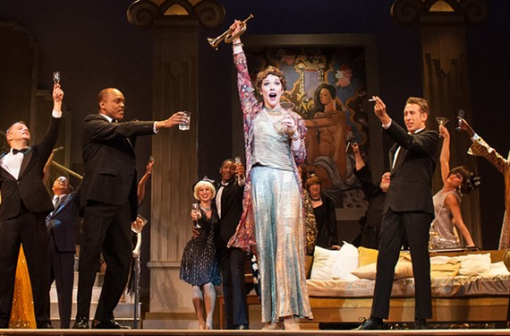 Tony-nominee Emily Skinner plays Mame in the latest big, splashy production of the same name by Virginia Rep.