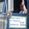Truckers Protest Rising Gas Prices by Driving in Circles