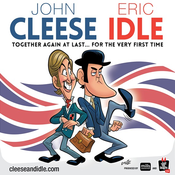 Icons of world comedy, John Cleese and Eric Idle are headed to Richmond this fall.