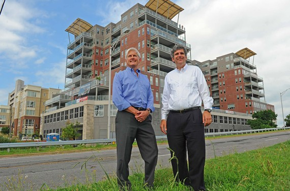 Robin Miller and Daniel Gecker continue to flex their development muscle. One of their new projects is the 148-unit Terraces at Manchester. - SCOTT ELMQUIST