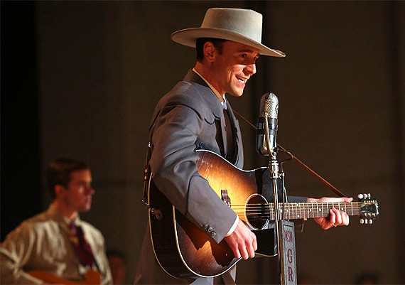 "Opening night film at the 28th Virginia Film Festival features ""I Saw The Light,"" the Hank Williams biopic starring Tom Hiddleston and Elizabeth Olsen."
