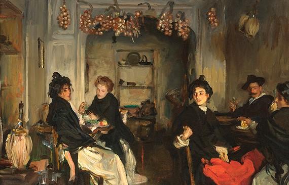 John Singer Sargent (1856-1925), Venetian Tavern, oil on canvas, The James W. and Frances Gibson McGlothlin Collection