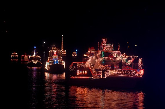 The 23rd annual James River Parade of Lights, Dec. 12.