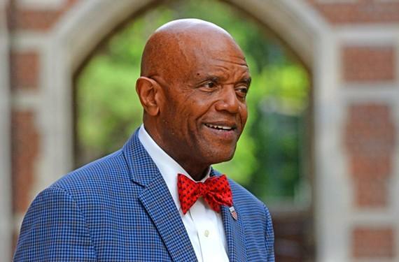 University of Richmond president Ronald A. Crutcher. - SCOTT ELMQUIST