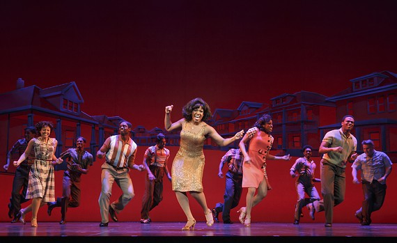 """""""Motown: the Musical"""" at Altria Theater is filled with snippets of great songs and lively dance performances."""