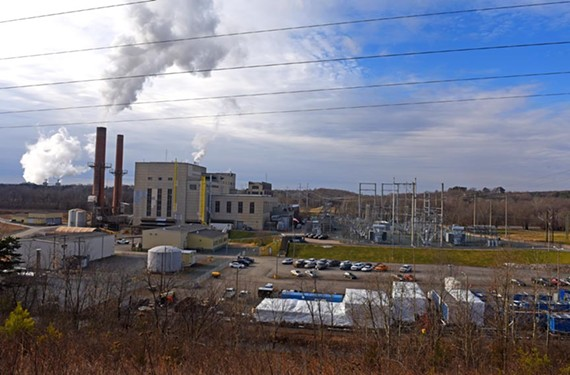 The Bremo Power Plant has been in service burning coal since 1931, but recently switched to natural gas. - SCOTT ELMQUIST