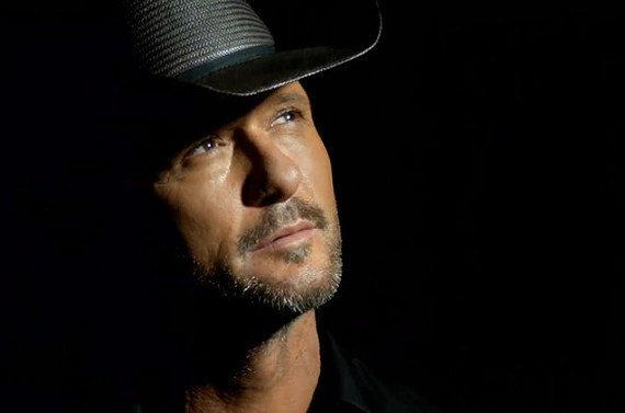 Tim McGraw contemplates the black hole phenomenon.