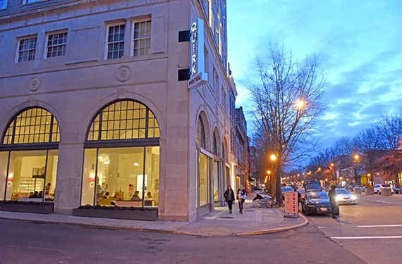 Quirk Hotel, the swanky creation of Ted and Katie Ukrop, is a shining example of the changes that have come to Broad Street since officially branding the area as an arts district. - SCOTT ELMQUIST