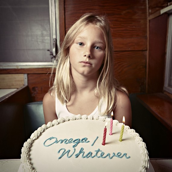 "The cover art for Avers' second album, ""Omega/Whatever"" features a young girl named Eloise. She's a talented songwriter and music student who took lessons from Avers guitarist Charlie Glenn. - SARAH WALOR"