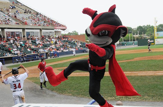 DAY 80: The Richmond Flying Squirrels start to wrap up their season.