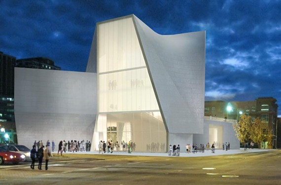 The ICA, designed by Steven Holl Architects, is scheduled to open in late 2017. - STEVEN HOLL ARCHITECTS