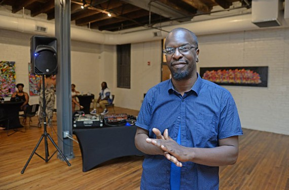 Michael Donovan, aka Mikemetic, and Afro Beta are celebrating the opening of the National Museum of African American History and Culture in Washington with a satellite event Saturday, Sept. 24, at 8 p.m. at RVA Eventspace. - SCOTT ELMQUIST