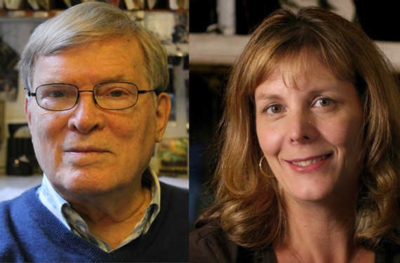 Filmmaker D.A. Pennebaker and his wife, Chris Hegedus, will be showing two of their films on Nov. 5 and 6 at the Virginia Film Festival in Charlottesville.