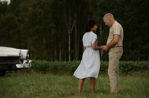 "Ethiopian-Irish actress Ruth Negga as Mildred Loving and Australian Joel Edgerton as Richard Loving have created Oscar buzz for their quietly moving performances in director Jeff Nichols' ""Loving."""