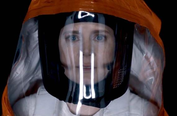 "Amy Adams in the sci-fi dud, ""Arrival."""