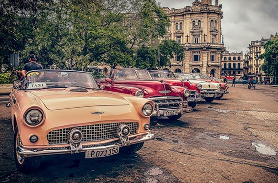 A 1956 Ford Thunderbird is just one of the automotive glories seen regularly in Cuba. - JOE RING