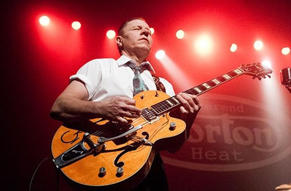 The Rev. Horton Heat - HARMONY GERBER