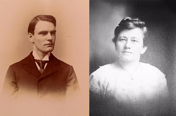 """Newspaper publisher and entrepreneur George Gibson """"Gib"""" Worsham and his wife, Julia Piltcher Worsham, bought the unfinished house and in 1913 engaged Richmond architect Charles M. Robinson to complete it. - WORSHAM FAMILY"""