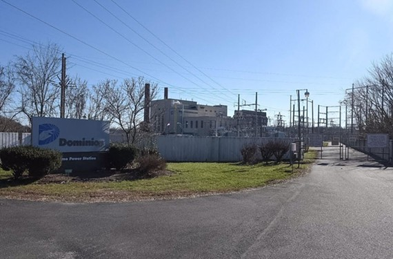 Dominion's Bremo Power Station sits 60 miles upstream of Richmond on the James River. - SCOTT ELMQUIST