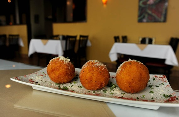 Arancini arrives on Cary Street with Chesterfield's Sapori Ristorante Italiano planning another spot, Sapori in the City. - SCOTT ELMQUIST