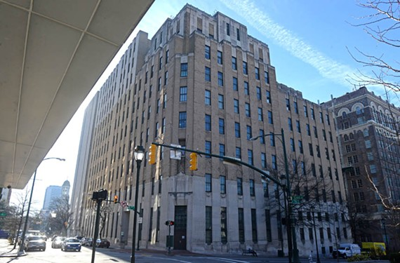 One of the region's deco masterpieces, the Verizon Building at 703 E. Grace St., was designed by a New York architecture firm, Voorhees, Gmelin and Walker. - SCOTT ELMQUIST