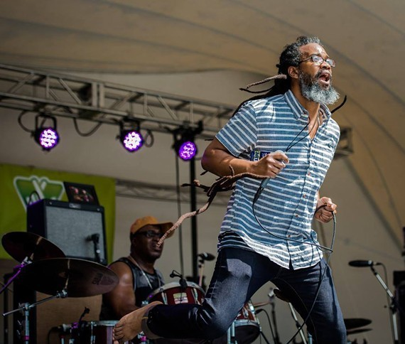 Richmond's reggae ambassador, Mighty Joshua.