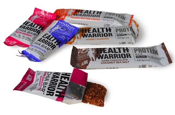 The chia bars produced by Health Warrior are selling by the millions. - SCOTT ELMQUIST