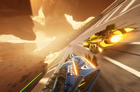 Gorgeous and quick. What more do you need from your anti-gravity racer? - SHIN'EN MULTIMEDIA