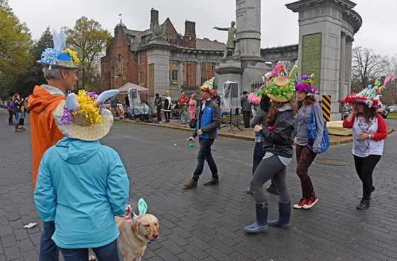 Monument Avenue is a beloved landmark in Richmond, drawing such community events as Easter on Parade — scheduled to return on Easter Sunday, April 16. - SCOTT ELMQUIST