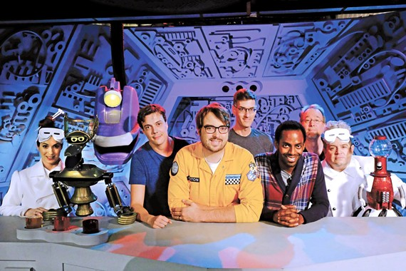 """For nearly 30 years, the cult comedy television series """"Mystery Science Theater 3000"""" has been making people laugh. New episodes began on Netflix in April."""