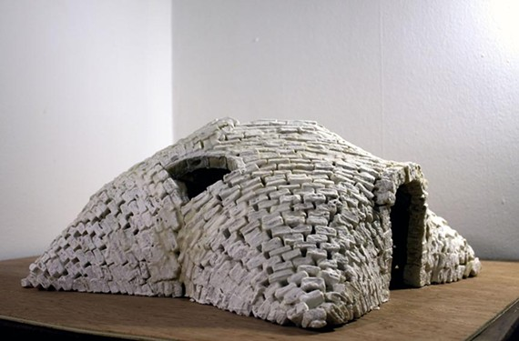 "Leila Ehtesham's ""Gonbad"" at Lewis Ginter's ""Wild Art"" exhibit. - LEWIS GINTER BOTANICAL GARDEN"