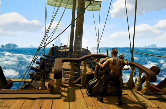 """Rare's """"Sea of Thieves"""" brings the pirate's life to the multiplayer genre. - MICROSOFT"""
