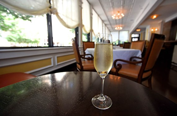 A glass or two of prosecco at Lemaire can summon the glamour you so richly deserve. - SCOTT ELMQUIST