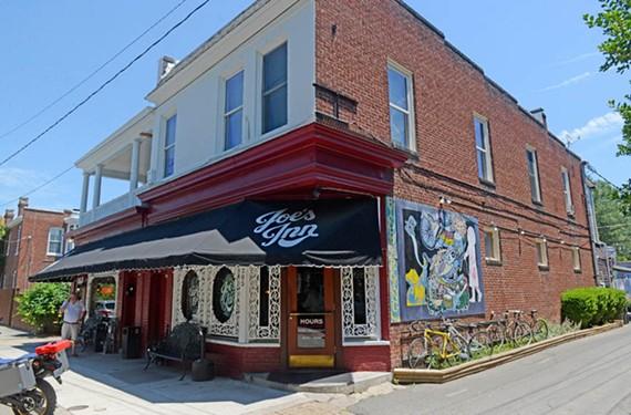 Joe's Inn, where Black meets his childhood friends from Oregon Hill for brunch. - SCOTT ELMQUIST