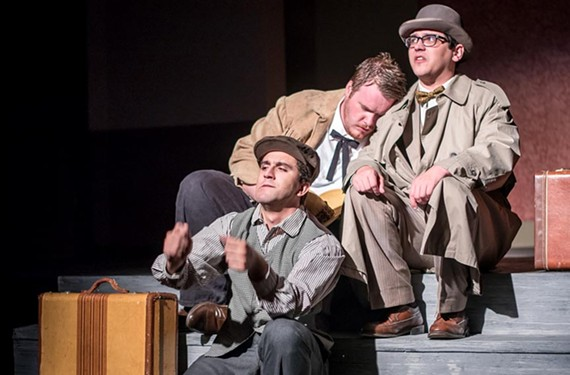 "Chamberlayne Actors Theatre's ""Baskerville"" Sept. 1-16. - DARYLL MORGAN PHOTOGRAPHY"