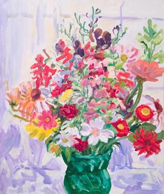 "Nell Blaine's ""Midsummer Flowers."""