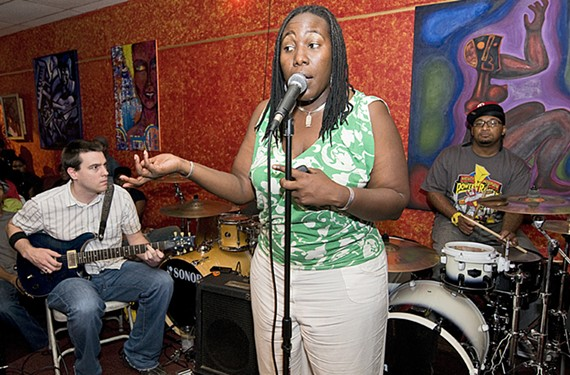 Lorna Pinckney, founder of Tuesday Verses, had a huge effect on the local arts scene. She passed away this week at age 43.