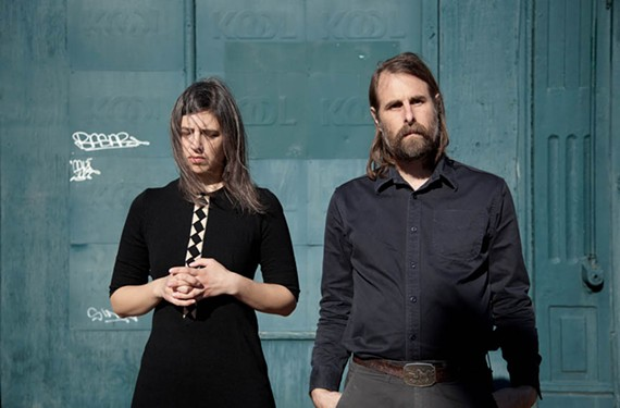 Singer and multi-instrumentalist Emilie Rex and Rick Alverson of Lean Year, who are based in Church Hill. Their languidly beautiful debut is inspired partly by '60s artists such as Karen Dalton and Fred Neil.