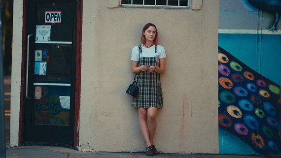 "Rising talent Saoirse Ronan plays Lady Bird in a coming-of-age comedy written and directed by indie actress Greta Gerwig (""Frances Ha,"" ""House of the Devil"")."